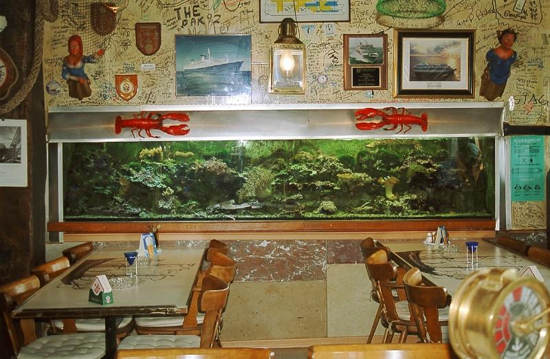 Aquarium Restaurant Treffpunkt Kaiserhafen